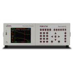 The PSM3750 features a full colour TFT display with the ability to display real time data and graphical plots