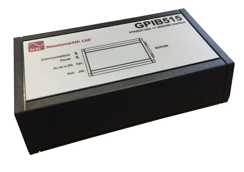 gpib interface for ppa power analyzers