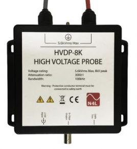 HVDP High Voltage Differential probe rated to 5.6kVrms 8kVpk