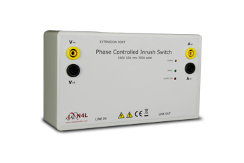 phase controlled inrush switch