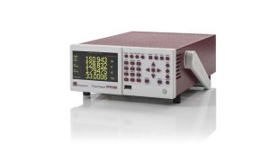 PPA500 compact power analyzer right view