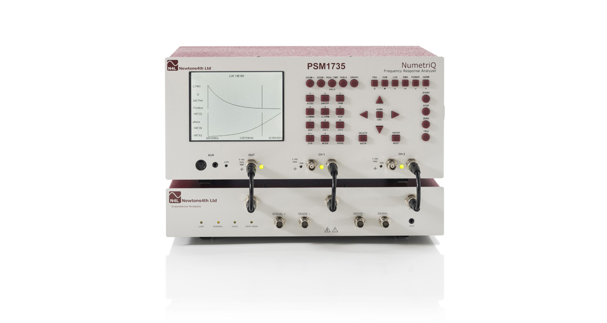 PSM1735 - 10uHz to 35MHz Frequency Response Analyzer - Newtons 4th