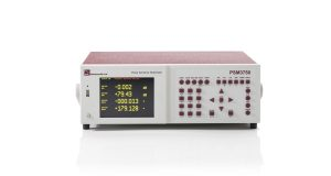 PSM3750 Frequency Response Analyzer front view