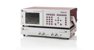 PSM3750 Frequency Response Analyzer plus IAI2 impedance analyzer