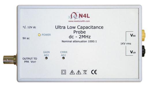 3kV peak ultra low capacitance probe