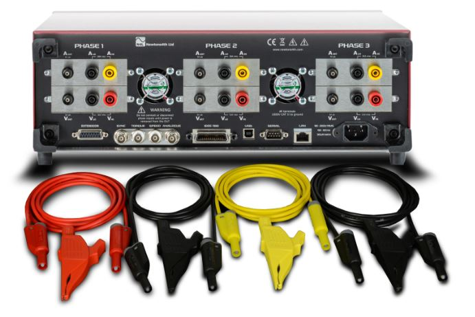 Power analyzer lead set