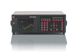 ppa4500 power analyzer graphical log view
