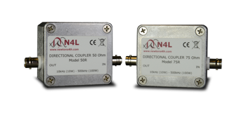 Selective Level Meter 50+75 Ohm Directional Couplers