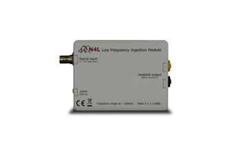 Frequency response analyzer injection transformer