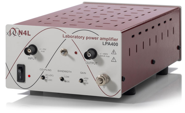 laboratory power amplifier 400 volts 1 mega hertz
