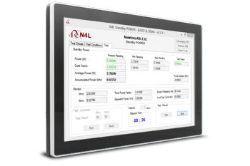 EN50564 & IEC62301 Standby Power Testing Software