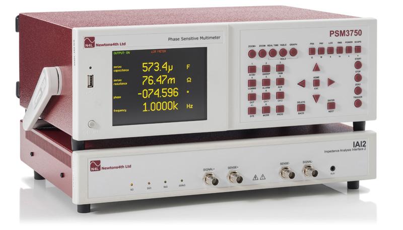psm1700-iai impedance analyzer 1 mega hertz