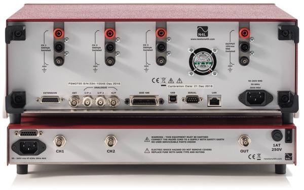 PSM3750 Impedance Analyzer for LCR analysis