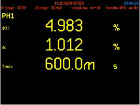 600ms Tmax flicker analysis