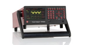 ppa1500 power analyzer oscilloscope view