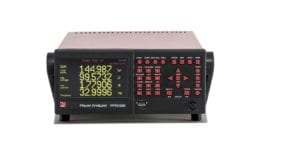 PPA500 compact power analyzer frontal view