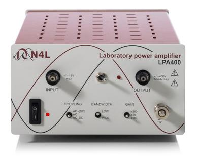 LPA400 400V Laboratory Power Amplifier 400Vpk 1MHz